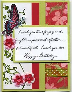 I Wish You Card, Stamps, & DIY Directions from GreatImpressionsStamps.com