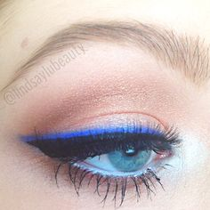 A wearable look using the Urban Decay Electric Palette - lindsaylubeauty