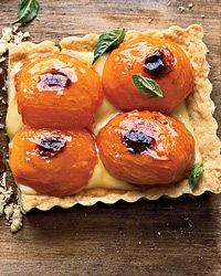 Apricot-and-Basil Shortbread Tart Recipe on Food & Wine