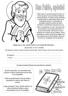 BLOG CATÓLICO GOTITAS ESPIRITUALES: SAN PABLO Religion Catolica, Catholic, Homeschool, Bible, Teaching, Words, Blog, Diana, Saints