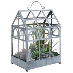 Freestanding Metal & Clear Glass Wardian Case Indoor Greenhouse Garden Plante... | Home & Garden, Yard, Garden & Outdoor Living, Gardening Supplies | eBay!