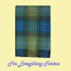 Eilean Donan Luxury Tartan Cashmere Blanket Throw
