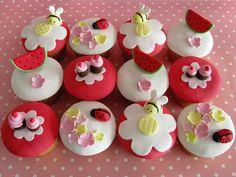 Summer Picnic Cupcakes