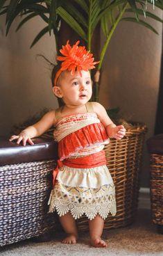 Traje de Moana vestido de Moana princesa hawaiana