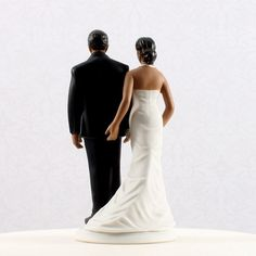 Plus Size African American Cake Toppers