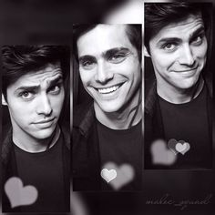 Omg! So there's this boy, and the way he laughs makes me happy and everything about him is so perfect! -Lidia #HappyBirthdayMatthewDaddario #aleclightwood #MatthewDaddario #malec #shadowhunters @matthewdaddario