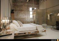 Swing bed from pellets.