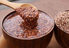 Flax seeds for diet: 4 recipes for using .- Flax Seeds for Dietary Nutrition: 4 Recipes for Personal Use Homemade Colon Cleanse, Ginger Juice, Beautiful Soup, Curly Hair Tips, Nutrition, Natural Remedies, Natural Hair Styles, Seeds, Food And Drink