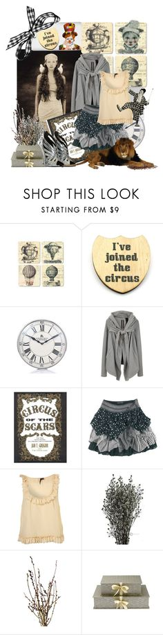 """""""Off to the Circus"""" by nz-carla ❤ liked on Polyvore featuring Haberdash House, DRKSHDW, Joe Browns, Nina Campbell and Balmain"""