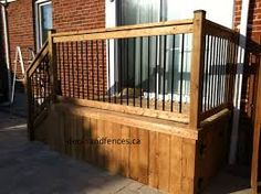 Image result for gray square pressure treated lattice deck skirt