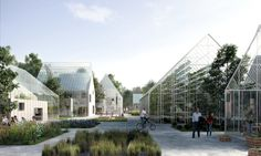 Danish architectural firm EFFEKT designed ReGen Villages, self-sustaining communities that grow their own food and produce their own energy.