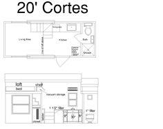 Cortes Cornerstone Tiny Home Plans