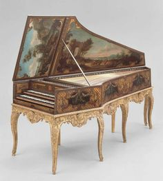 Harpsichord France, 1736 The Museum of Fine Arts, Boston