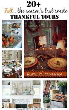 Thankful #fall series of 20 + homes