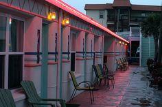 Mid Century Modern Kitsch at the Magic Beach Motel: Vilano Beach, Florida