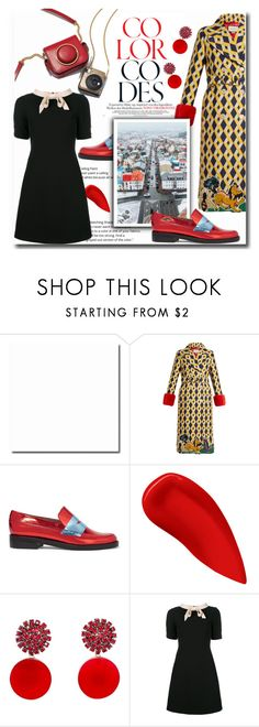 """""""Reykjavik Travel Outfits"""" by rocio-martinez-1 ❤ liked on Polyvore featuring Gucci, MR by Man Repeller, Lipstick Queen, Marni, iceland, reykjavik and outfitsfortravel"""
