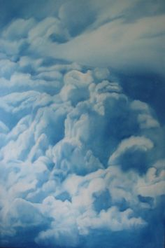 New Blood Art | Clouds I by Coral Churchill | Buy Original Art Online | Artworks by Emerging Artists for Sale