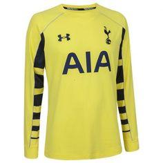 2e1032690 Tottenham 2015 2016 Away Goalkeeper Shirt (Yellow) - Available at  uksoccershop.com