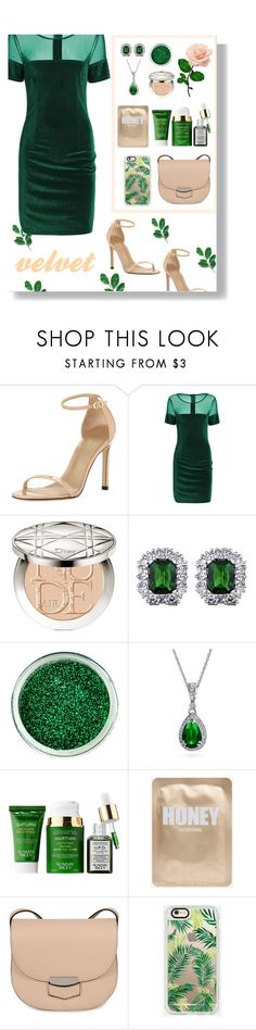 """""""41"""" by enchantedmist ❤ liked on Polyvore featuring Stuart Weitzman, Christian Dior, SkinCare, Bling Jewelry, Sunday Riley, CÉLINE and Casetify"""