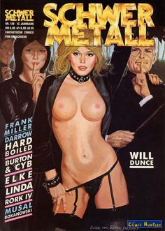 "Schwer Metall Magazine Covers. - Board ""Art-Schwer Metall"". -"
