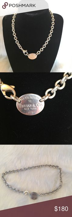 """Tiffany & Co New York necklace Please return to Tiffany & Co New York .925 necklace 15 1/2"""" Tiffany & Co. Jewelry Necklaces"""