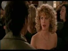 "Video clip  ~~~~  The beautiful happy end of the movie ""when Harry met Sally""  I nearly burst into tears everytime I watch this scene."