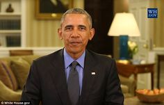 President Barack Obama has urged Americans to be engaged citizens in the coming years. In his final weekly address, Obama said: 'We can't take our democracy for granted'