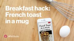 Easy French toast in