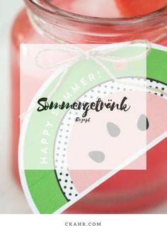 Der Sommer wird bunt mit den leckeren Sommergetränken. Rezept -> ckahr.com