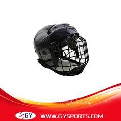 2016 de la alta calidad EPP forro jugador de Hockey sobre hielo casco de la cara llena máscara para Hockey