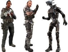 From Left to Right: Vice Admiral Graves, Bish, & Spyglass (IMC Commanders)