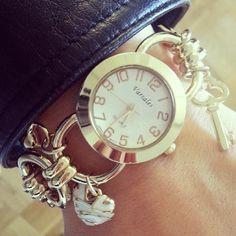 Glam charm watch