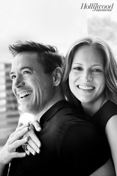 RDJ y Susan Downey - The Hollywood Reporter Susan Downey, Robert Downey Jr Wife, Beau Gif, Celebrity Biographies, The Hollywood Reporter, Downey Junior, Celebrity Couples, Tony Stark, Belle Photo