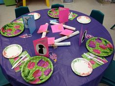 Preschool Ideas For 2 Year Olds: Mother's Day Tea Party and Gifts