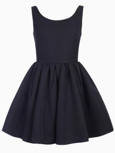 Shop Sleeveless Skater Dress in Black from choies.com .Free shipping Worldwide.
