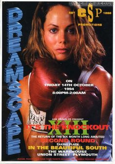 Dreamscape XIII rave flyer @ The Warehouse Plymouth 1994 - classic #raveflyers uploaded to #phatmedia