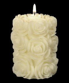 Flora 4'' Pillar Candle
