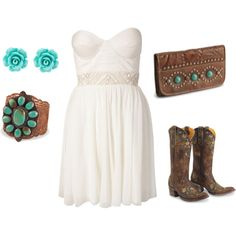country chic, created by suzannaryan on Polyvore