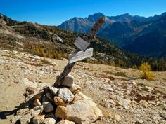 PCT : Rainy pass -> Cutthroat pass -> Granite pass - 10/06/2012 -by harris