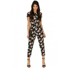 Didget Rose Print Jumpsuit - Jumpsuits & Playsuits - Clothing - Missguided