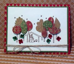 Primitive New Born King  www.stampingwithlinda.com Check out my Stamp of the Month Kit Linda Bauwin – CARD-iologist  Helping you create cards from the heart.