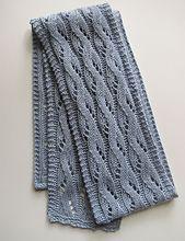 free,           any gauge,           Ravelry: Falling Water pattern by Bonnie Sennott