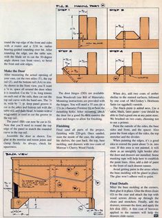 Cupboard Plans - Furniture Plans
