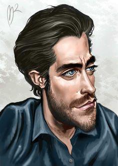 marzio mariani caricatures - Google Search Jake Gyllenhaal