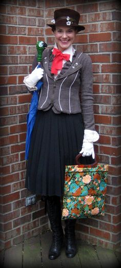 Cassie Stephens.... Mary Poppins would be a cool costume to wear.