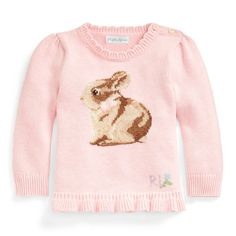 Park Avenue Red 12 mos Infant Ralph Lauren Baby Baby Girls Cable Cotton Peplum Cardigan