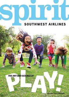 Southwest Airlines Spirit magazine cover art from April 2012 #SouthwestAirlines #Spirit #magazine