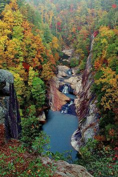 Tallulah Gorge, Ga. Yeah, I'm going there next weekend.