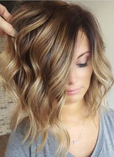 22 Pretty Balayage Hair Color Trend and Styles in 2018