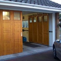 Alternative or Unusual Garage Door Opening Ideas – The Garage Journal Board  Are these called sliding?